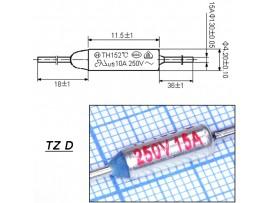 TZ D-165-15A Термопредохранитель