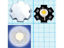 LED 3WR 3.6V 200-220LM 3000-3500K с радиатором