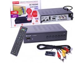 D-COLOR DC1602HD ресивер эфирный DVB-T2+DVB-C