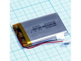 LP403048-PCM-LD Аккумулятор 3.7V 600 mAh Li-Pol