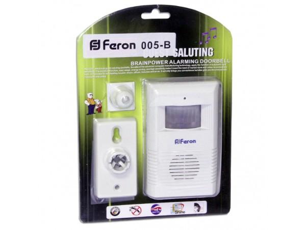 Звонок беспроводной с ИК-датчиком движения Feron-005В