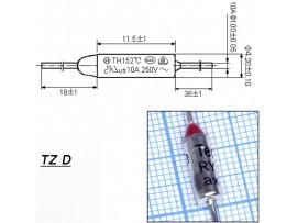 TZ D-072-10A Термопредохранитель