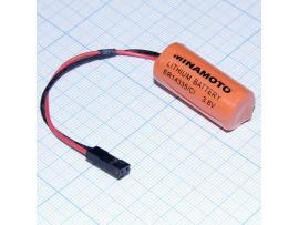 ER14335/С1 батарея 3,6V Li-SOCl2 с коннектором