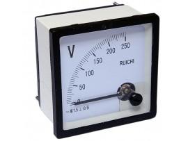 Вольтметр 250V AC кл. точн. 1,5 72х72мм