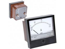 Амперметр 20А 220V AC (72х72)
