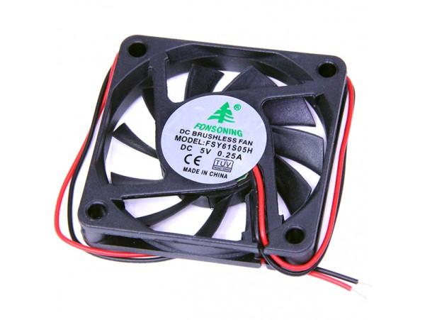 Вентилятор 5V0,25A 60x60x10 FSY61S05H