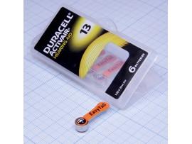 Элемент питания ZA13, P13 Duracell, блистер 6 шт.