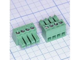 15EDGK-3.81-04P-14-00A(H) клеммник 4к шаг 3,81мм