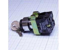 3SA8-BG25 ключ-выключатель NO+NC