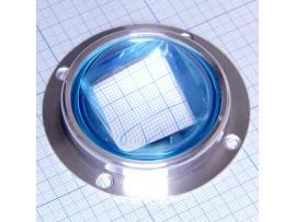 Линза D=67мм для модулей LED 20-100 Вт