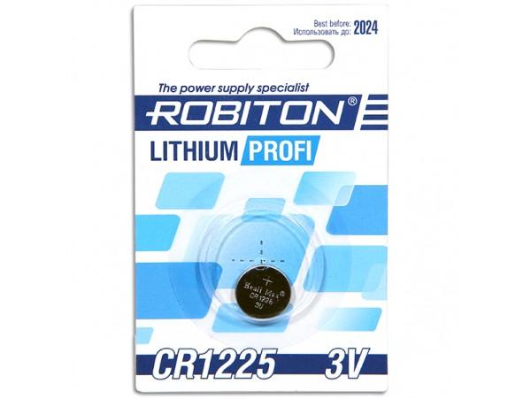 CR1225 Батарея  3V Robiton