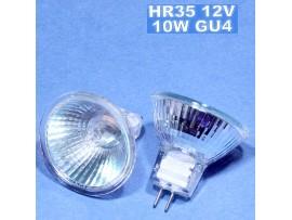 Лампа12V/10W MR11 GU4 со стеклом