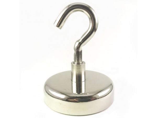 Магнитный крючок 60х15 м8