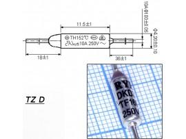 TZ D-169-10A Термопредохранитель