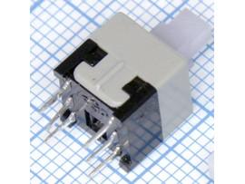 Такт.8х8 перекл. с фикс.PS 800L 30VDC 0.1A