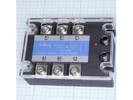 3SSR 440V 100A (Z)D3 (3-32v) реле твердотельное