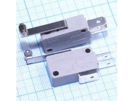 MSW-03 on-on (16A/250VAC) Перекл. с планкой + ролик