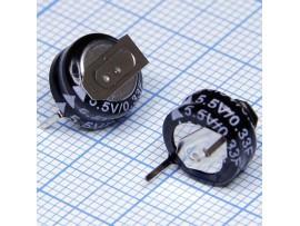 Ионистор 0.33F/5.5V 5R5D10F33H