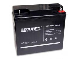 Аккумулятор 12V/17Ah SF1217 (167х181х76мм) Security