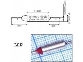 TZ D-172-15A Термопредохранитель