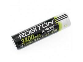 Аккумулятор 3,6V/3400 mAh 18650 (d=18;L=67) Robiton