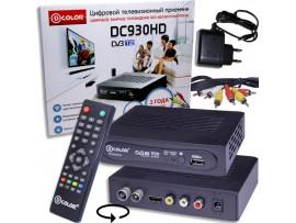 D-COLOR DC930HD ресивер эфирный DVB-T2,HD