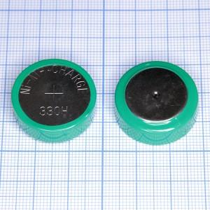 Аккумулятор 330H 1,2 V/330 mAh, NIMH (25.2x8.8mm)