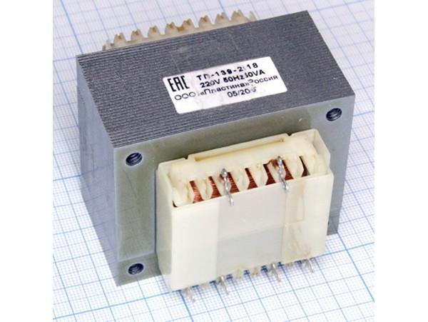 Транс. ТП-139-2х18в (2х18V/1.4A)