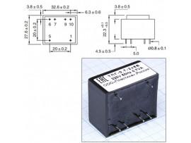 Транс. ТПГ-0,7 220V/2x6V 0.05A