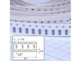 CAT16-102J4 4х1 кОм сборка резисторная