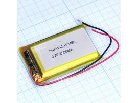 LP103450-PCM-LD Аккумулятор 3.7V 1850mAh Li-Pol