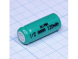 Аккумулятор 1,2V/120 12AAAAH/1/2AAAA