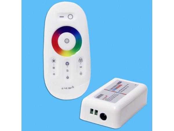 Контроллер RGB с ПДУ сенсор. для светод-х лент