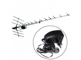 Дельта Н1181А антенна DVB-T2 с усилителем без кабеля