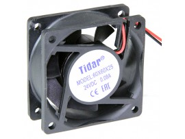 Вентилятор 24V/0,08A 60х60х25 RQD6025MS