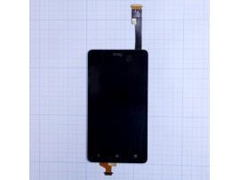 HTC Desire 400 Дисплей с тачскрином (черный)