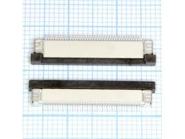 FPC 0,5-40-02 розетка 40к под шлейф, шаг 0,5мм, SMD