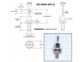 1N3882R (300V;6A) Диод