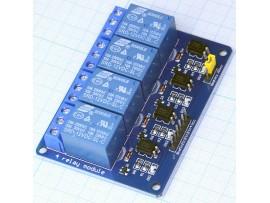 Arduino Модуль релейный 4-х канальный 12V
