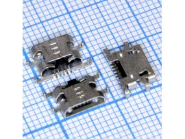 Micro USB 5pin B-5SAD8 Гн. на плату