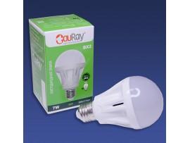 Лампа BX2-22GN24-60 AC/DC LED E27 4000K 7W