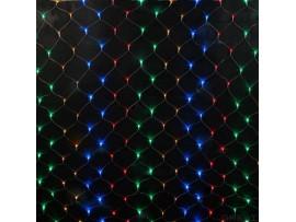 Гирлянда-сетка 144 LED, 1.5*1.5м,  хол.белый