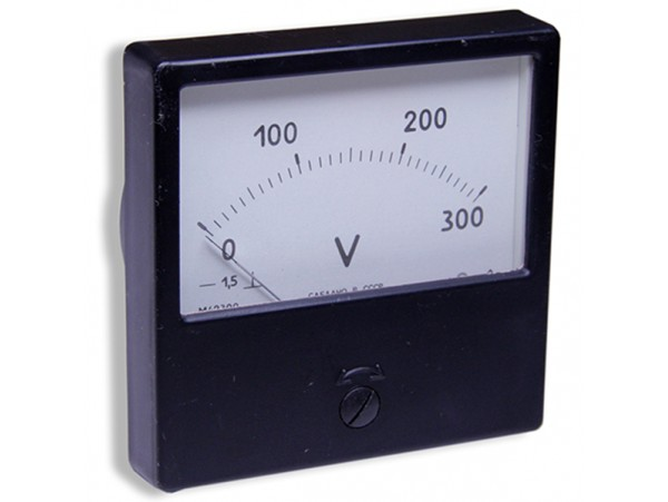 М42300 (0-300V) DC вольтметр