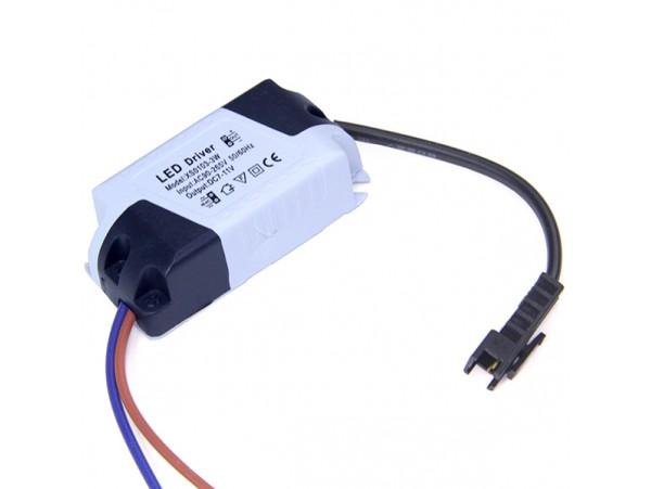 Драйвер LED ~85-277V>12-18VDC (0,3A) QH-L01-5x1W