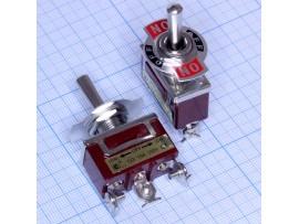 KN3B-123A 3к3п 220 V, 15А Тумблер без фиксации