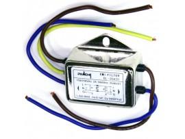 DL-2DX31 фильтр сетевой 1-фазный, 250V/2A