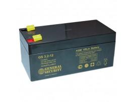Аккумулятор 12V/3.2Ah 134x68x67 мм  GS 3,2-12