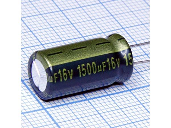 Конд.1500/16V 1020+105°C WL