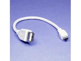 Шнур USBA гн = mini USB шт 0,2м