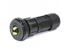 SZC-280 3pin (IP68) разъем на кабель герметичный компл.